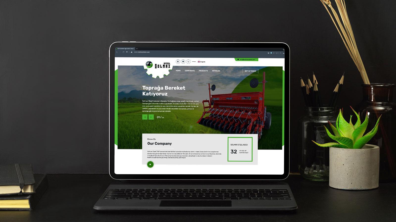 SOLMAX WEB SİTESİ