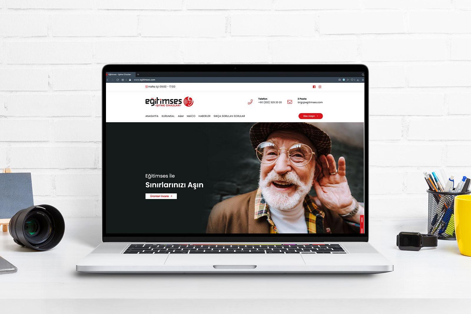 EĞİTİM SES İŞİTME CİHAZLARI WEB SİTESİ
